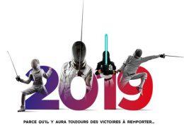 EBTAC escrime vous souhaite une bonne année 2019!